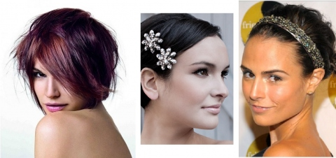 Attractive Short Hairstyles for Prom Picture