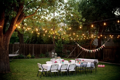 How to Hold Events in Your Backyard Picture
